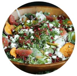 Winter Harvest Salad with Champagne Vinaigrette